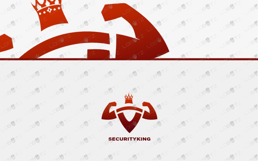 security king logo for sale