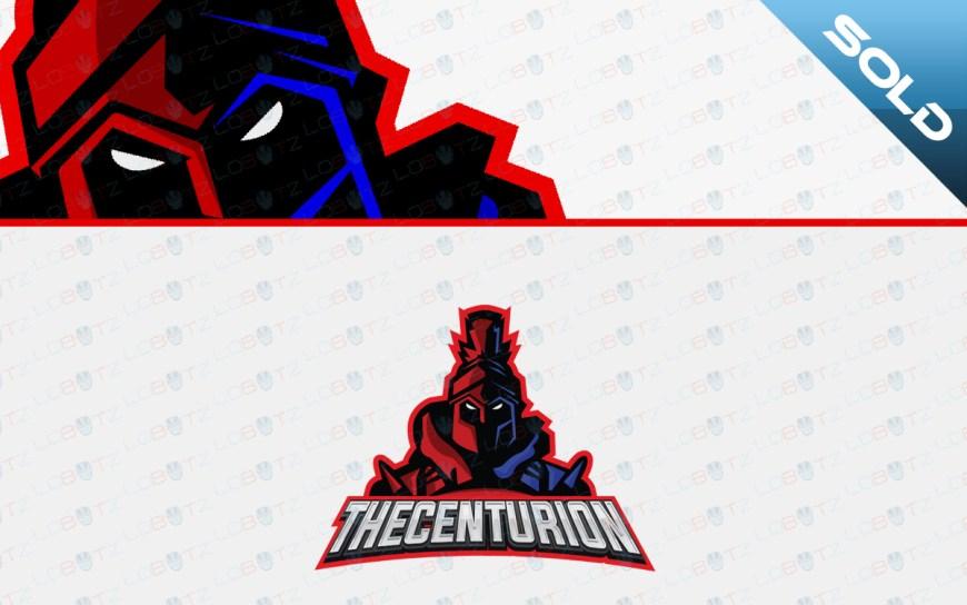 centurion mascot logo for sale
