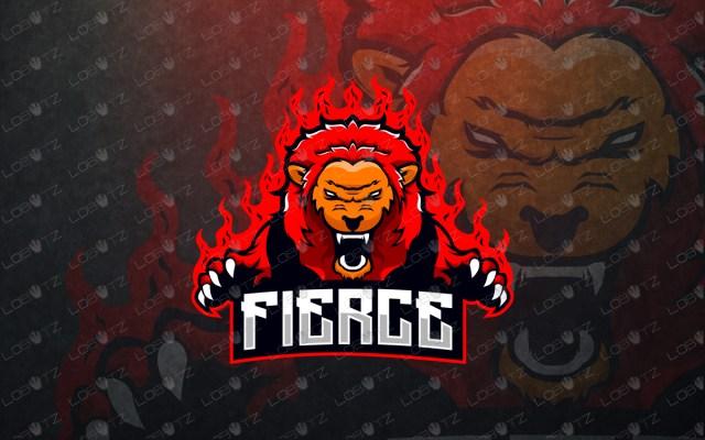 lion mascot logo lion esports logo