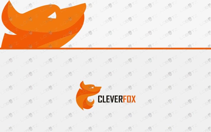 premade fox logo for sale