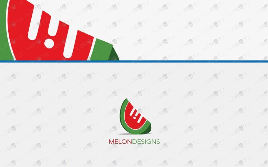 melon logo for sale