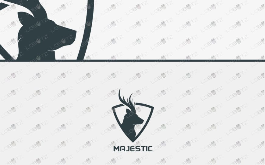 deer logo for sale
