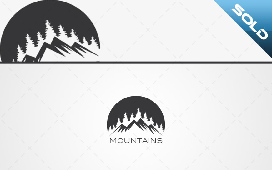 Mountain Logo For Sale