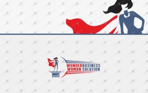 superhero woman logo for sale