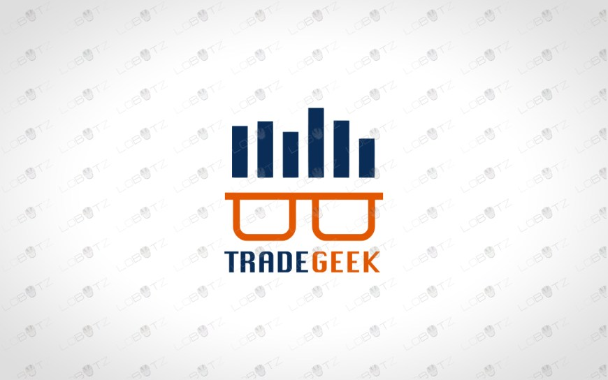 trade geek logo for sale