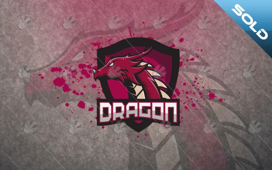 dragon mascot logo dragon esports logo