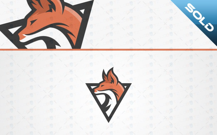 Fox Mascot Logo For Sale