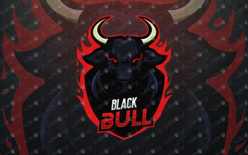 bull mascot logo bull esports logo