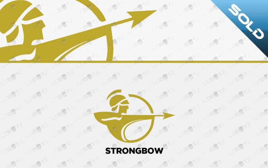 archer logo for sale premade bow logo