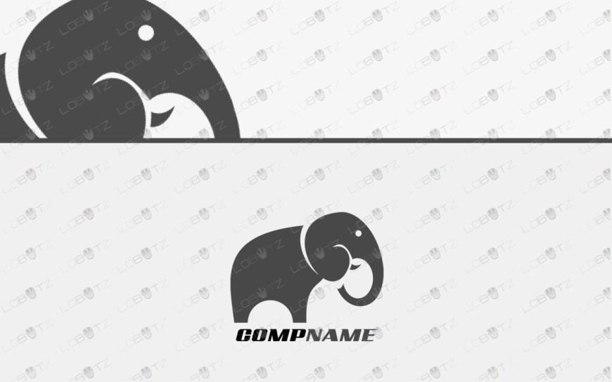 elephant logo for sale premium business logos