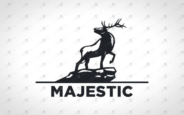 deer logo for sale premade logos