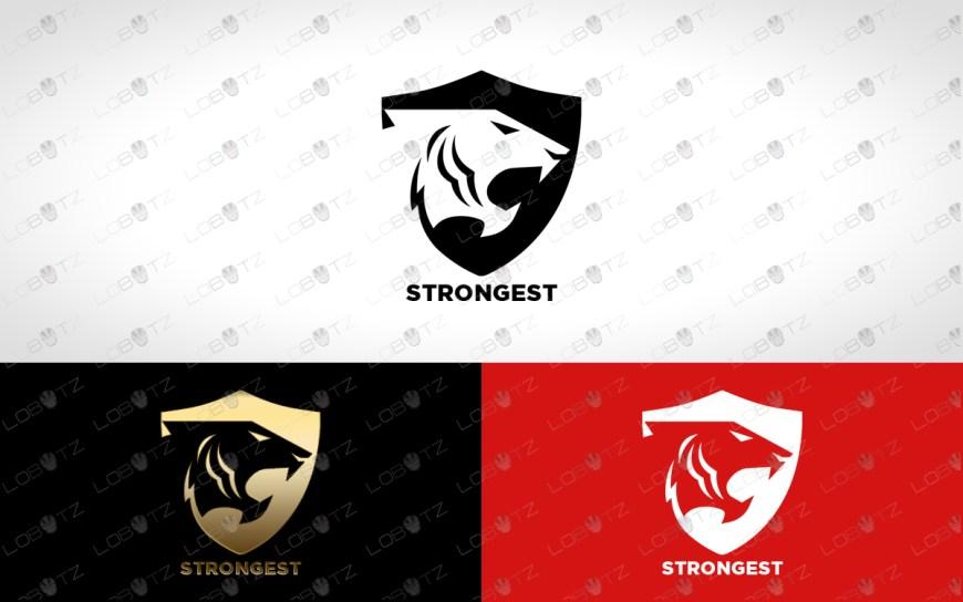 premade tiger logo for sale tiger shield