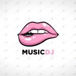 Lips Logo For Sale Premade Lips Logo