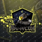 Spectacular Soldier eSports Logo Soldier Mascot Logo