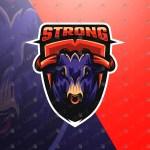 Incredible Bull Mascot Logo For Sale | Bull eSports Logo