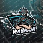 Warrior Gaming eSports Logo | Gaming Mascot Logo