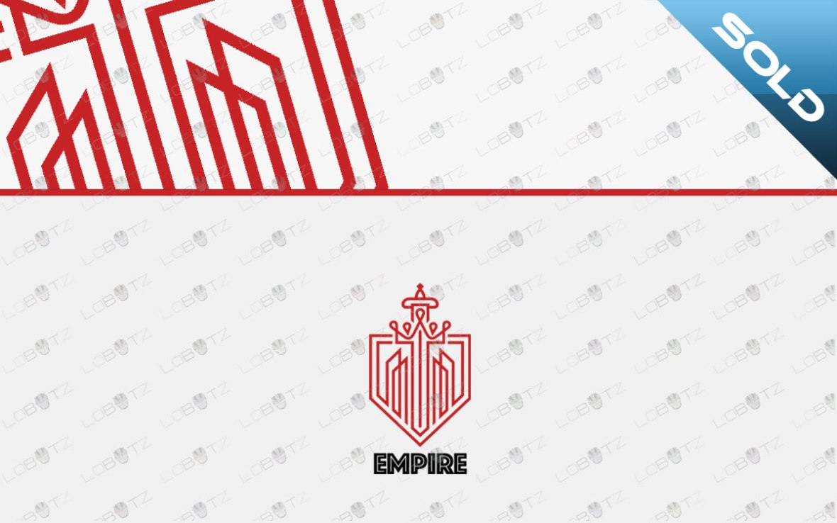 empire brand logo business logo for sale