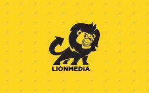 cartoon lion logo for sale premade logo