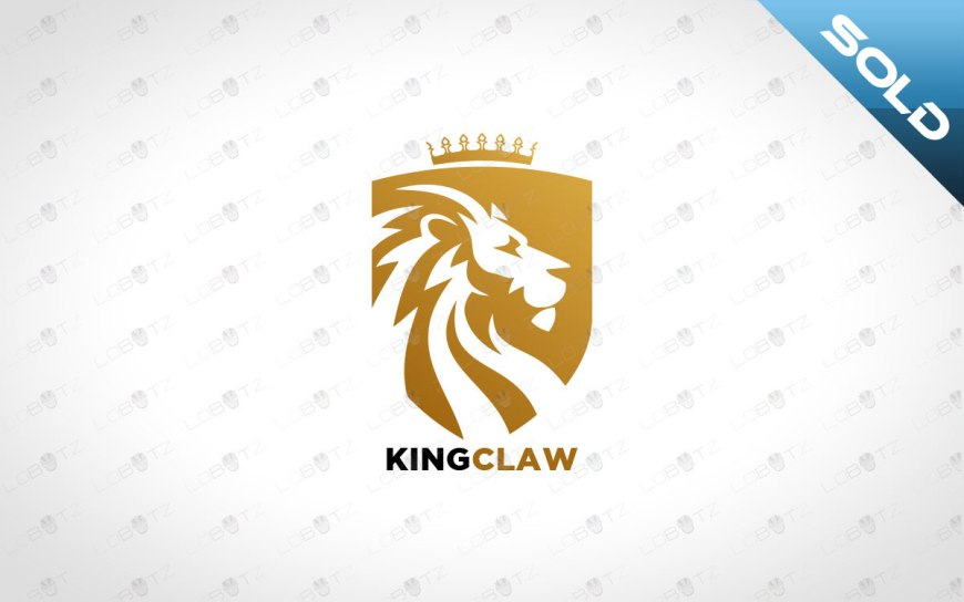 Premium Lion Logo Premade Lion Logo For Sale