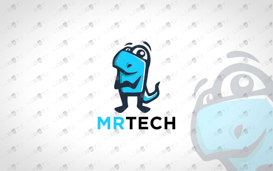 technology logo for sale tech logo