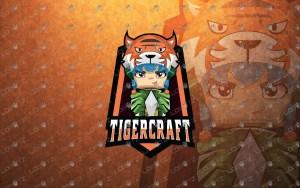 Tiger Minecraft Logo Tiger Minecraft Mascot Logo For Sale