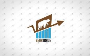 Strong Bear Logo For Sale | Creative Trade Logo To Buy Online