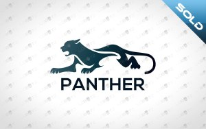 premade Panther logo for sale