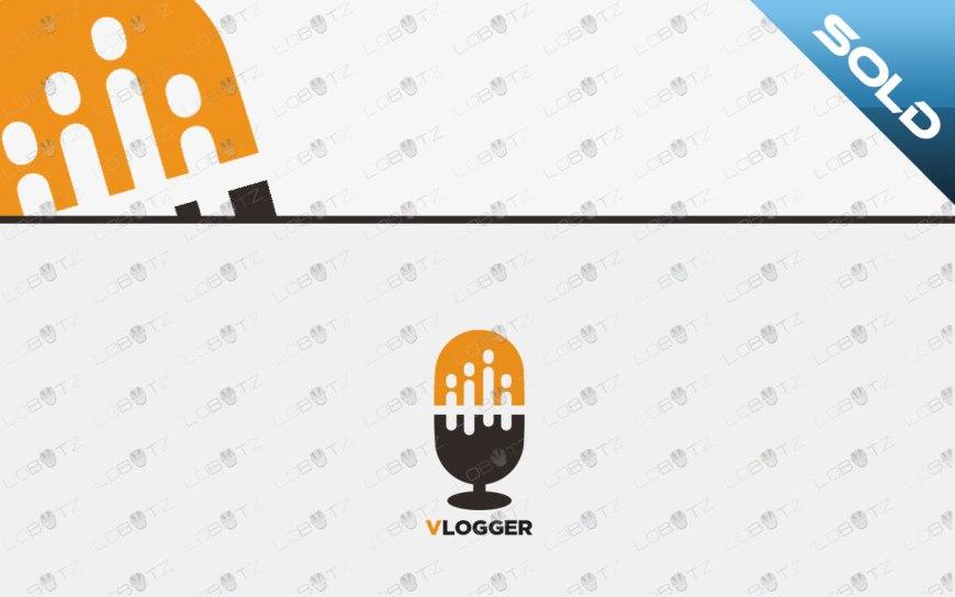 premade vlog logo for sale vlogger logo
