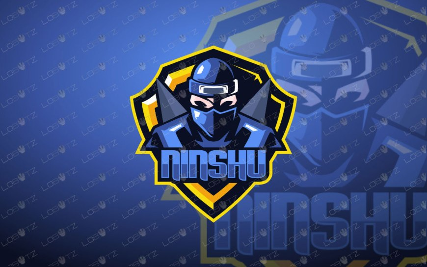Ninja Mascot Logo Ninja eSports Logo For Sale