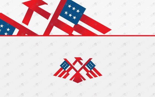 American Eagle Logo | American Flag Logo For Sale