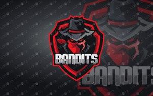 Bandit Mascot Logo For Sale   Bandit eSports Logo