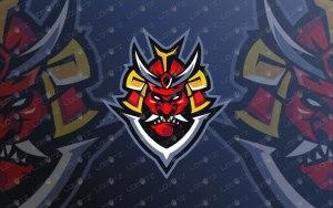 Ronin Mascot Logo For Sale   Premade Ronin eSports Logo