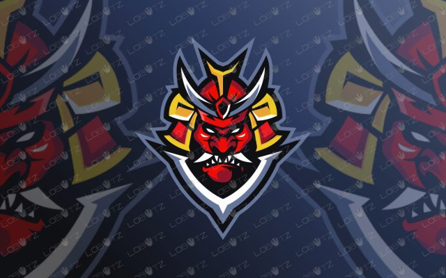 Ronin Mascot Logo For Sale | Premade Ronin eSports Logo