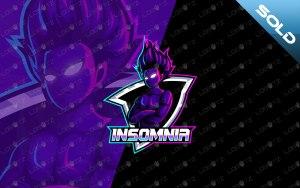 Premade Mascot Logo Gaming eSports Logo For Sale