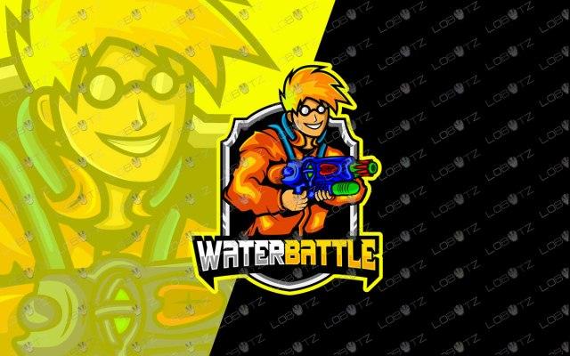Premade Mascot Logo Gaming eSports Logo For Sale soldier mascot logo