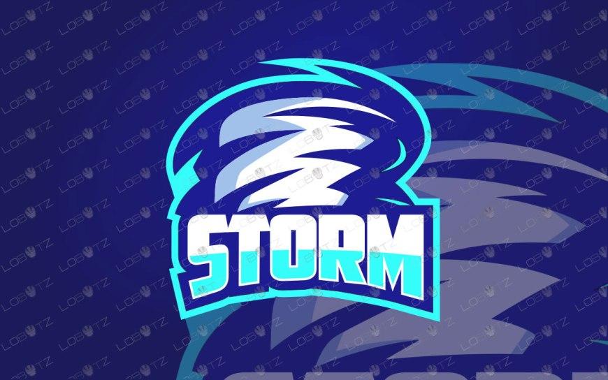 Premade Storm Mascot Logo For Sale | Storm eSports Logo