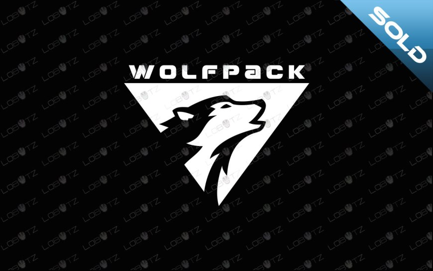 premade wolf logo for sale