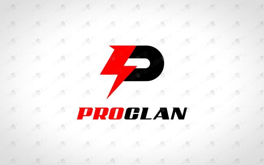 Clan Logo   Team Logo   Letter P Logo   Gaming Logo
