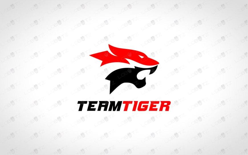 Tiger Clan Logo   Tiger Team Logo   Tiger Gaming Logo For Sale