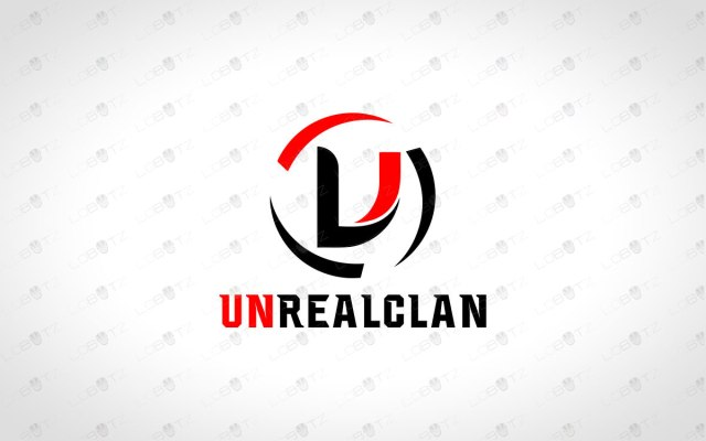 letter U Team logo for sale Clan logo for sale premade clan logo