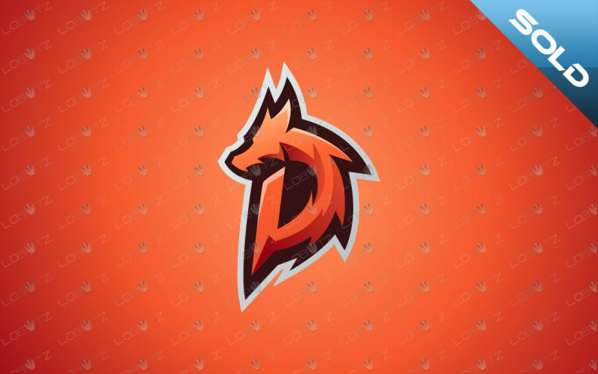 Letter D Dragon Mascot Logo   Dragon eSports Logo For Sale