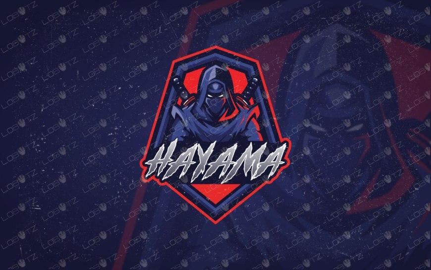 Assassin Ninja Logo   Ninja eSports Logo   Ninja Mascot Logo