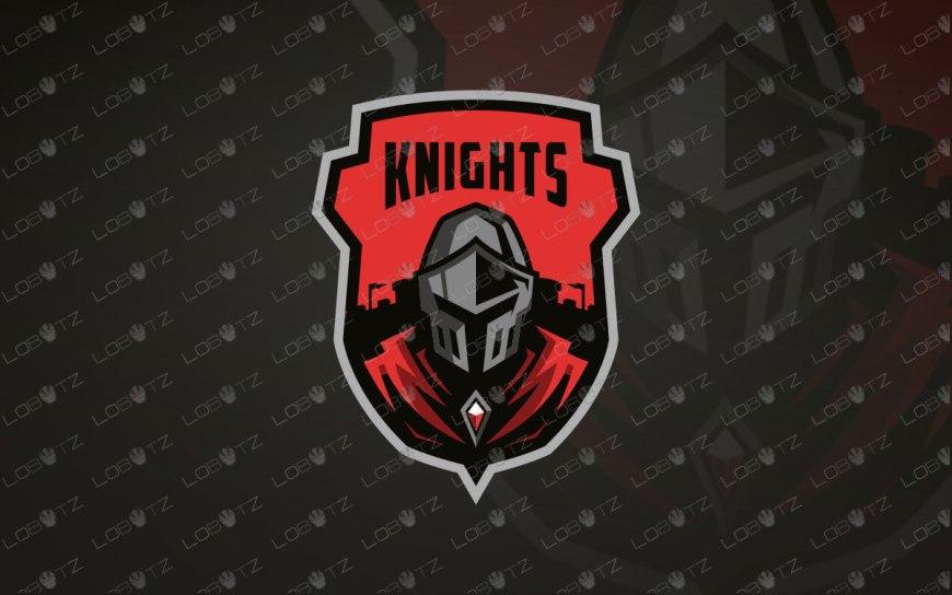 Premade Knight Mascot Logo   Knight eSports Logo For Sale