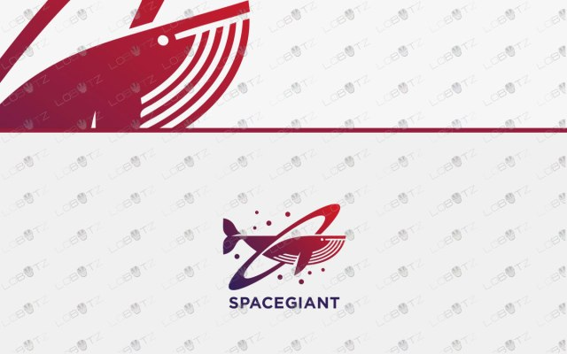 Creative Whale Logo For Sale Modern Whale Logo