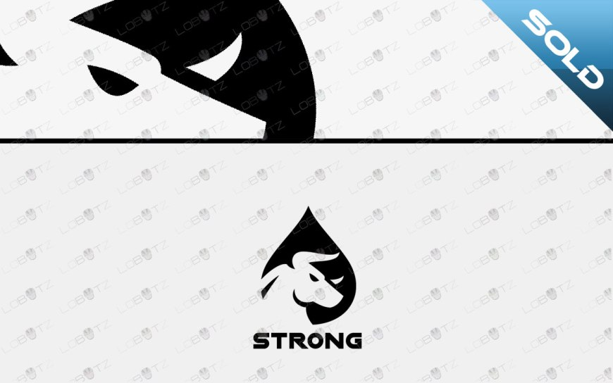 bull logo for sale