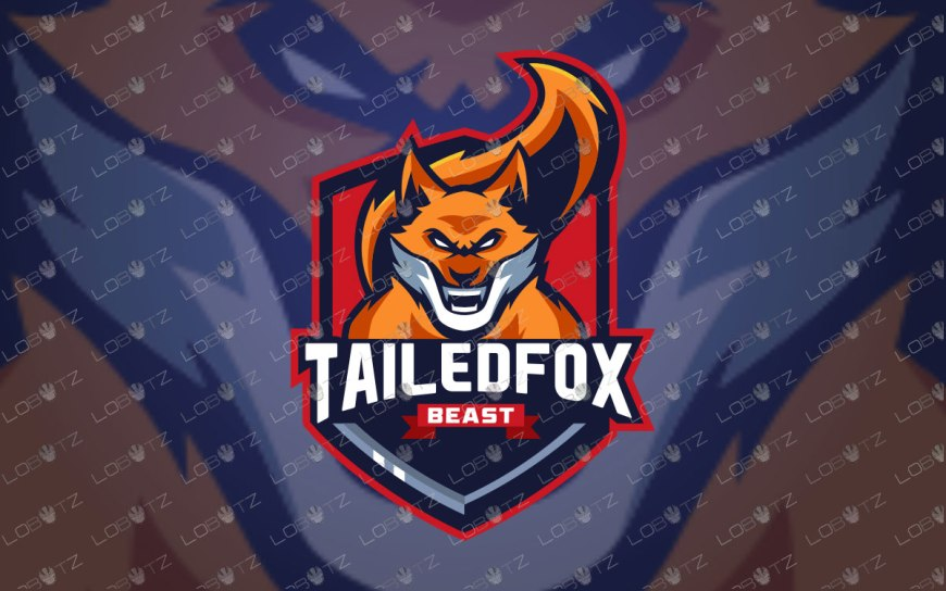 Fox Mascot Logo For Sale Fox eSports Logo premade logos