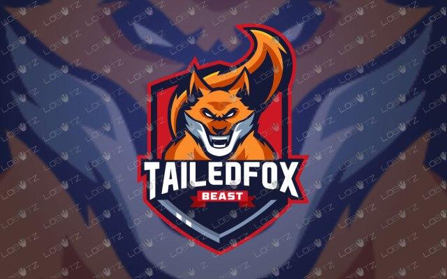 Fox Mascot Logo For Sale Fox eSports Logo premade logos