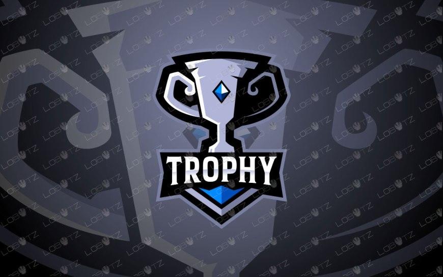 Premade Trophy Mascot Logo   Trophy Mascot Logo For Sale