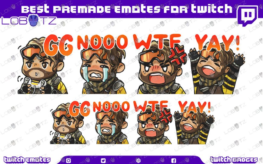 premade twitch emotes apex legends twitch emotes apex legends emotes mirage emotes twitch