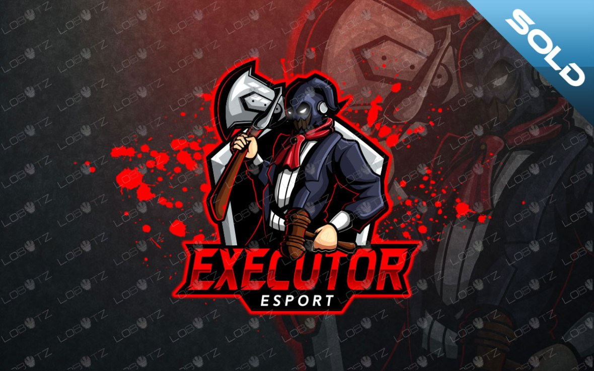 gaming mascot logo gaming esports logo for sale executor logo